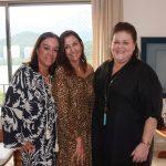 Claudia Romano, Claudia Bandeira e Heloisa Farme de Amoedo