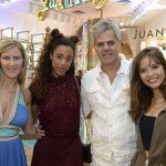 Ivana Volaniuk, Yara Charry, Jose Luis e Joana Borges
