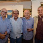 João Condé, Sérgio Costa e Silva, Evandro Carneiro e Eduardo Clark