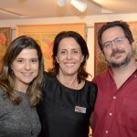 Juliana Valle, Laura Oliviere e Marcelo Schild