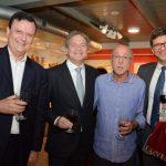 Leonardo Amarante, Sergio Mannheimer, Evandro Carneiro e André Faoro