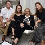 Marcio Roiter, Patricia Secco , Lourdes Catão e Maria Salete
