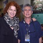 Emília Silveira e Sílvio Da-Rin