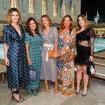 Prescila Real, Sinesia Karol, Alessandra Schauffert, Graça Schauffert e Alexandra Karol