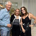 Sérgio Margullis, Lourdes Catão e Patricia Secco