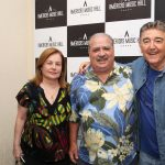 Tania Rocha, Mariozinho Rocha e Miguel Plopschi