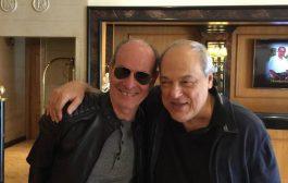 Ney Matogrosso e Toquinho se encontram em Lisboa