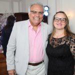 Franklin Toscano e Alessandra Bernstein