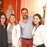 Gisele Taranto, Marcia Muller, Erick Figueira de Mello e Patricia Mayer