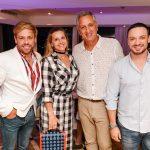Bruno Chateaubriand, Claudia Liechavicius, Marcus Vinicius Freire e Eduardo Braga