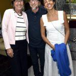Mariza Leão, Joaquim Ferreira dos Santos e Lilian Sapucahy