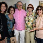 Rosane Svartman, Clélia Bessa, Luiz Carlos Barreto, Lucy Barreto e Vera de Paula