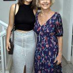 Giulia Marzo e sua avó Betty Faria