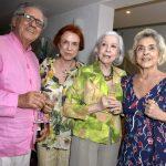 Luiz Carlos Barreto, Lucy Barreto, Fernanda Montenegro e Betty Faria