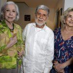 Fernanda Montenegro, Celso Amorim e Betty Faria