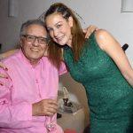 Luiz Carlos Barreto e Luana Piovani