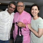 Andrucha Waddington, Luiz Carlos Barreto e Fernanda Torres