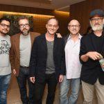 Karvalho Filho, Augusto Madeira, Eucir De Souza, Paulo Pereira e Akira Goto