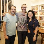 Marcus Lacerda, Fabio Carvalho e Rosana Palazyan