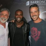 Oscar Magrini Rafael Zulu e Carlos Bonow