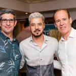 Pascal Giordano, Gilson Martins e Christian Boudier