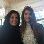 Antonia e sua filha Maria Frering