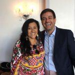 Regina Casé e Bruno Astuto