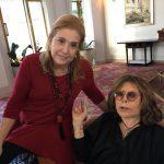 Madeleine Saade e Danuza Leão