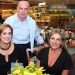 Sylvia Fraga,Luiz Fernando Santos Reis e Cyntia Bezerra