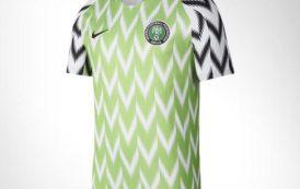 Camisa da seleção da Nigéria é eleita a mais bonita da #Copa2018 no Twitter