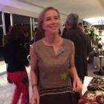 A homenageada Fernanda Vilela dançando