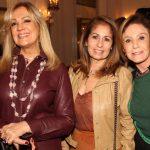 Alda Soares, Cristina Lipps e Lea Nigri
