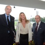 Alfredo Taunay, Maria Padilha e Francisco Dornelles
