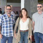 Andre Serra, Claudia Marandino e Paulo Guedes