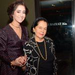 Antonia Leite Barbosa e sua avó Sylvia Leite Barbosa
