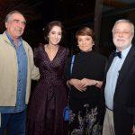 Antonio José de Almeida Carneiro, Antonia Leite Barbosa, Heloísa Magalhães e George Vidor