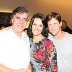 Carlos Magalhães, Ana Caldas e Ricardo Nauenberg