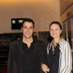 Claudio Lins e Alexandra Di Calafiori