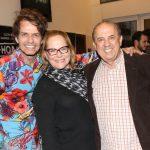 Cleto Baccic, Lucinha Lins e Claudio Tovar