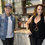 Caco Borges e Patricia Secco