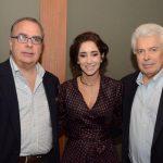 Carlos Leal, Antonia Leite Barbosa e João Marcos Mendes de Souza