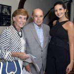 Cecília e Francisco Dornelles e Marina Mandetta