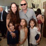 Claudia Mauro e Paulo Cesar Grande com os filhos