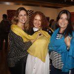 Cristiane de Oliveira, Adriana Lerner e Ana Cristina Gomes