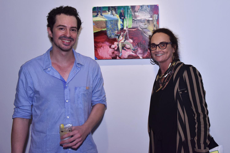 """Abertura da exposição """"Dentição"""", de Daniel Lannes"""