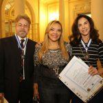 Edwin Luisi, Sandra Silva e Claudia Alencar