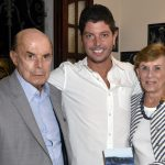 Francisco Dornelles, Maurício Pessoa e Cecília Dornelles