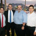 Igor Giesteira, Aloisio Farias, Wagner Filho e Jose Augusto Carneiro
