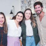 Kelsy Hardt, Roberta do Rio, Beatriz Costa e Diogo Bastos