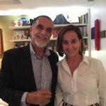 Leonardo Laginestra e Bebel Niemeyer